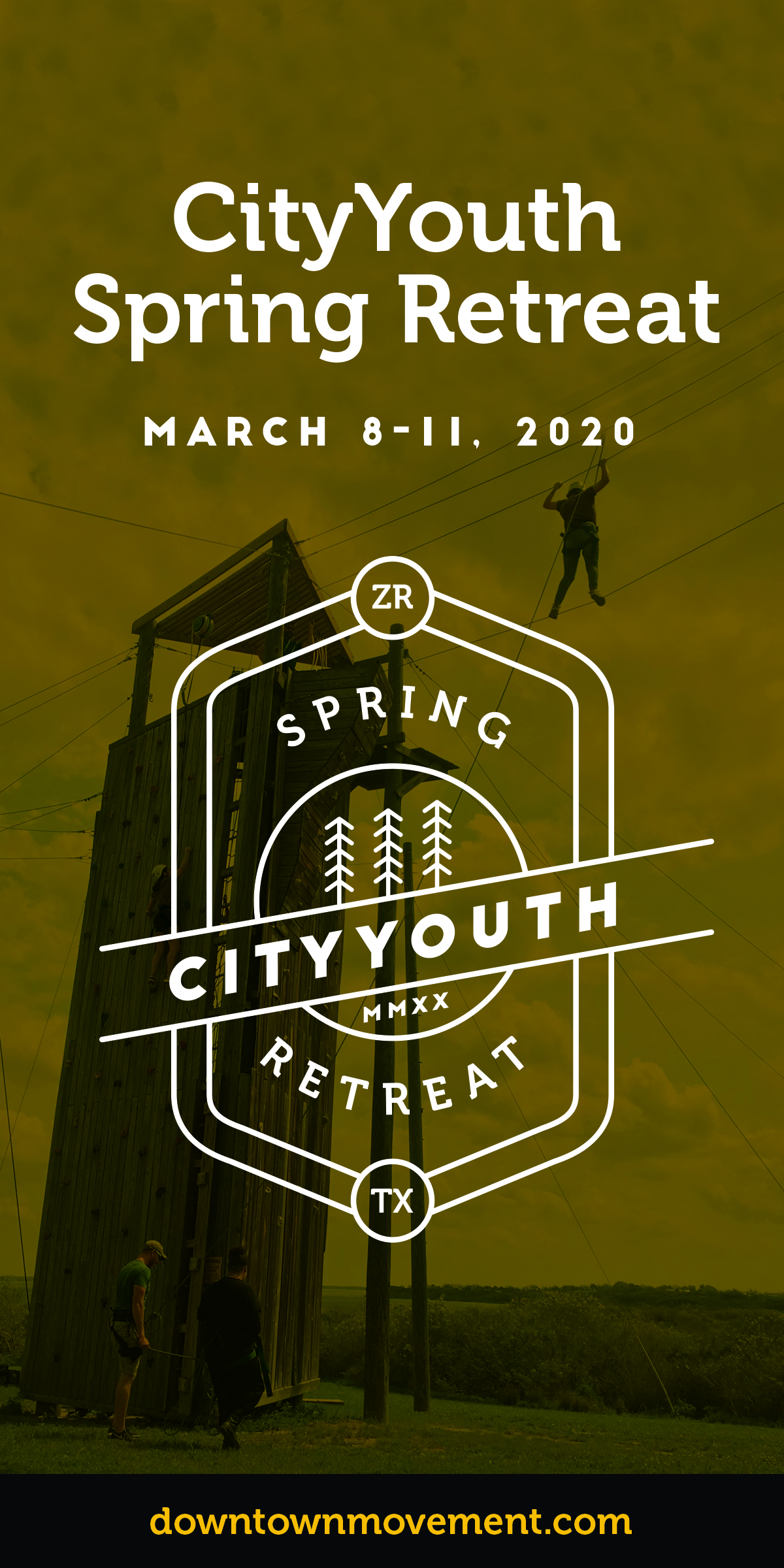 Sign up for City Youth Spring Retreat